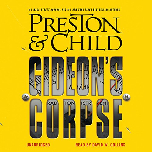 Gideon's Corpse audiobook cover art