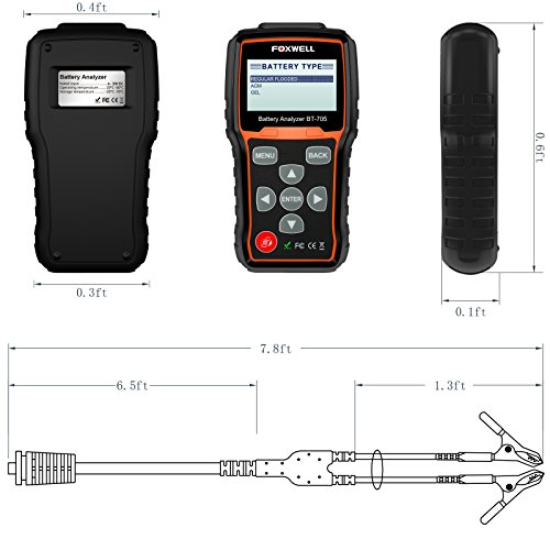 Foxwell BT 705 Automotive Tester