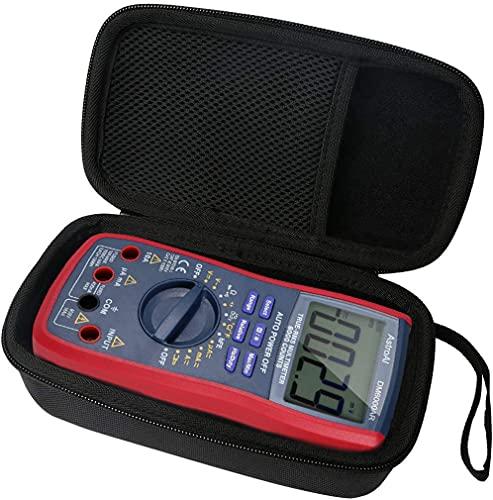 Khanka EVA Difficile Caso Viaggiare trasportare sacchetto per Multimetro Digitale Classico, Tacklife DM02A Multi Tester(solo scatola)