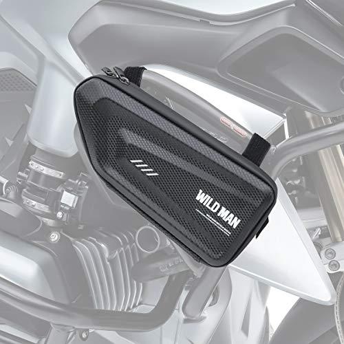 Bolsa Defensa Moto para Triumph Tiger 800 / XR/XC Negro K6