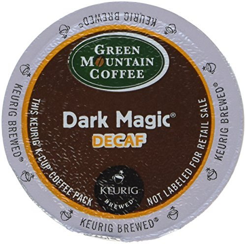 Green Mountain Coffee Roasters Dark Magic Decaf, Single-Serve Keurig K-Cup Pods, Dark Roast Coffee, 96 Count