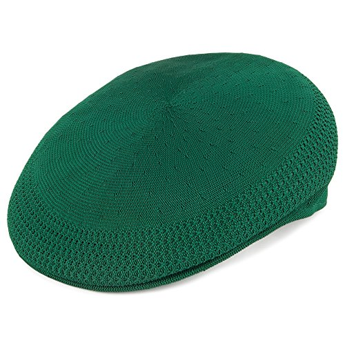 Kangol Casquette Plate en Tropic 504 Ventair Classic Vert Medium