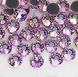 BrillaBenny 1400 cristales Light Rose AB Pink AB boreal rosa AB termoadhesivos Hotfix Rhinestone Crystal (SS10/3 mm)