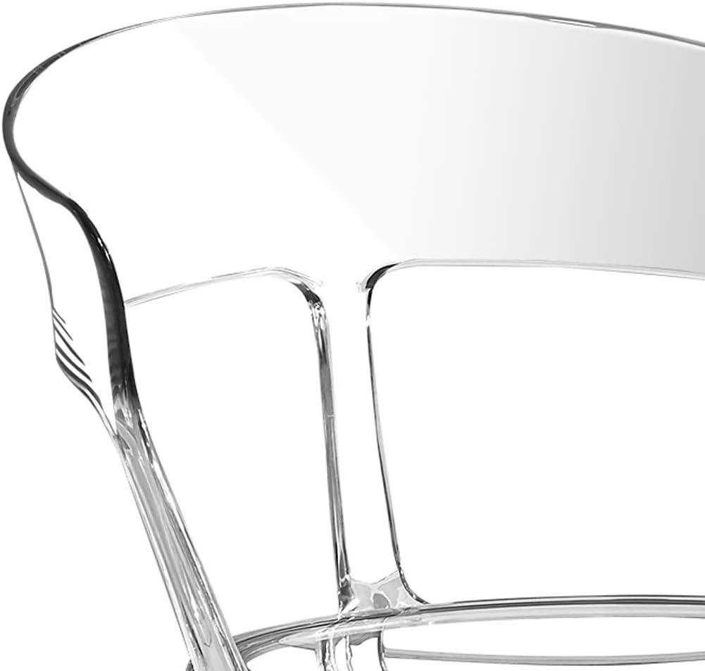 PRIDE S Chaise de Salle à Manger, Chaise de Bureau, Dossier créatif, Chaise de Loisirs, Chaise de Salle à Manger pour Adulte, Chaise de Maison Noir-b