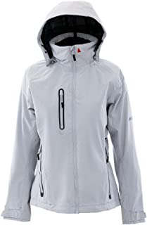 Womens Corsica BR1 Yacht Sailing and Boating Coat Jacket Coat Platinum. Waterproof & Breathable