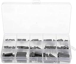 Ronde Ended Veer Sleutel Shat Sleutel Motor As Veer Sleutel Set Parallelle Aandrijfas 3-6mm 140 STKS Zwarte Bevestigingsmi...