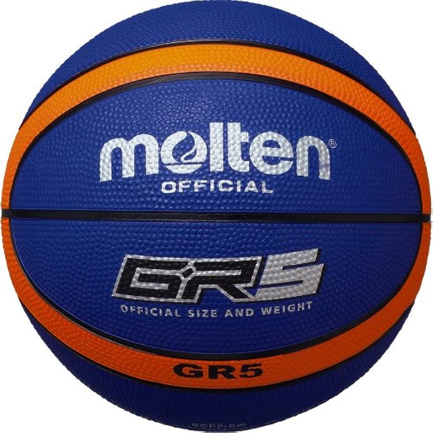 赤道嫌悪旅行代理店(モルテン) MOLTEN GR5 ゴムバスケットボール