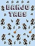 Banjo Tabs: Cuaderno De Tablatura Para Banjo | Escriba su propia música de la tablaturas de la Banjo! | Partituras de papel en blanco para canciones y acordes de Banjo (Banjo Taccuino)