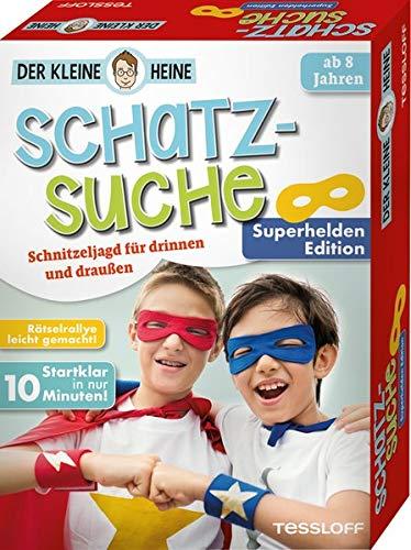 Der kleine Heine. Schatzsuche. Superhelden Edition. Schnitzeljagd für drinnen und draußen
