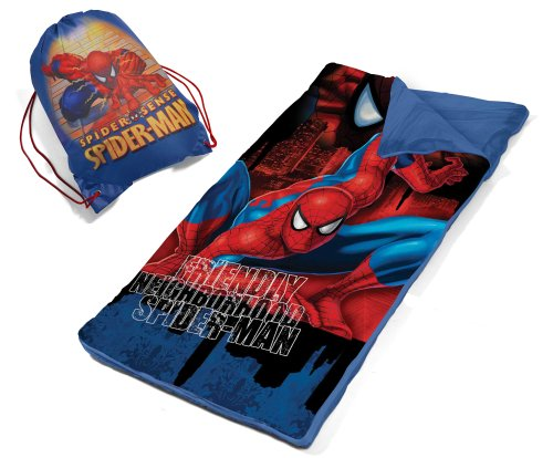 Product Image of the Marvel Spiderman Slumber Bag Set
