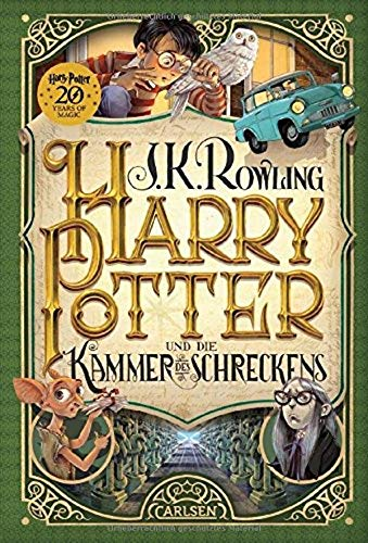 Harry Potter und die Kammer des Schreckens (German Edition of Harry Potter and the Chamber of Secrets)
