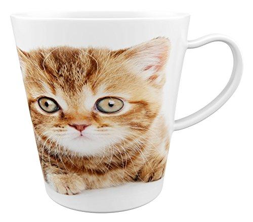 Kat - kater - katje |Latte Macchiato beker koffiebeker met fotodruk |002