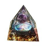 SunniMix Kristall Pyramide Reiki Pyramide für Balancing | Yoga | Meditation Energie Reiki Natürliche...