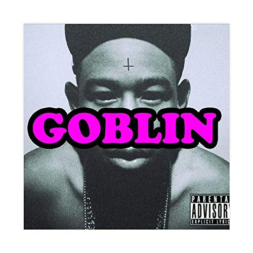 Singer Tyler The Creator Goblin (Deluxe) Album Cover Poster Decorative Painting Canvas Wall Art Living Room Posters Bedroom Painting 12×12inch(30×30cm)Unframe-style1
