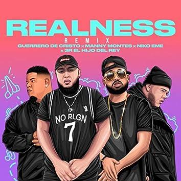 Realness (Remix) [feat. 3r el Hijo del Rey]