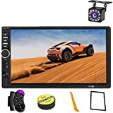 ★ High Resolution Screen: car stereo use HD TFT highlight digital display screen ,7 inch high definition upgrade capacitive touch screen,touch it will be more sensitive and accurate,support 1080P video playback, give you a fantastic experience ★ Blue...