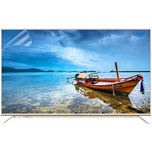 Protector Pantalla TV Anti luz Azul para TV de 32-65 Pulgadas, película Protectora Pantalla LCD antideslumbrante, Alivia la Fatiga Ocular, Ultra Claro para monitores LCD/PC/Mac,43' 942 * 529mm