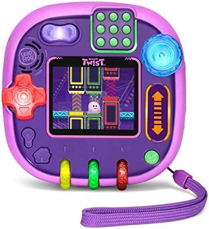 LeapFrog RockIt Twist Handheld Learning Game System Purple product image