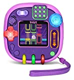 Best Handheld Game Systems - LeapFrog RockIt Twist Handheld Learning Game System, Purple Review