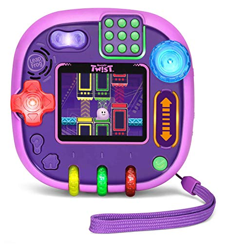 Our #3 Pick is the LeapFrog RockIt Twist Handheld Learning Toys Games System