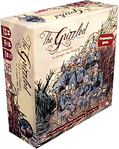 Cool Mini or Not CMNGRZ0001 - The Grizzled Brettspiel