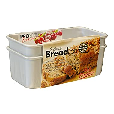 Fat Daddio'S 2-Piece Bread Pan Set