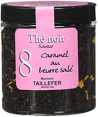 Maison Taillefer Thé Noir Caramel Beurre Salé Pot 60 g parent