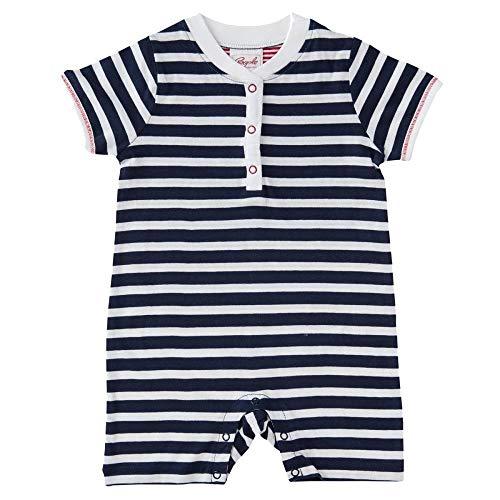 People wear organic Baby Joueur en Coton Bio - Bleu - 62/68 cm