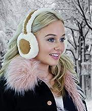 ALZO Bluetooth Earmuff Headphones Fashion Accessory Cream-Caramel