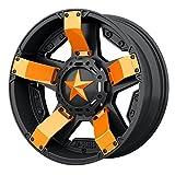 Orange XD Series XD811 Rockstar 2 Inserts For 18x7 +0 ATV Wheel