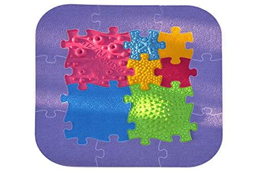 Orthopuzzle Baby-Puzzle-Set - Sensorik Strukturmatten für Kinder, orthopädische Puzzlematte für sensorische Integration