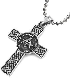 Best masonic cross ball pendant Reviews