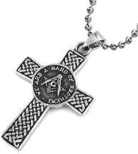masonic cross necklace