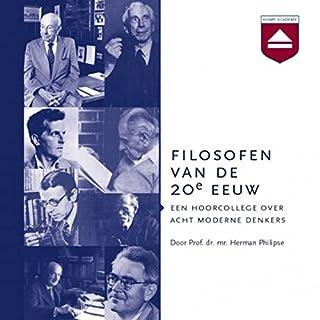 Filosofen van de 20e eeuw Titelbild