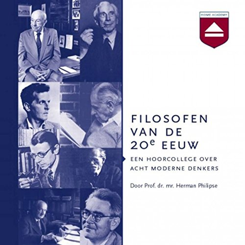 Filosofen van de 20e eeuw audiobook cover art