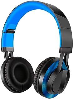سماعات رأس لاسلكية، ضوء RGB ، سماعات ألعاب ستيريو محيطية 3.5 مم مع ميكروفون ذاكرة لينة للأذنين للكمبيوتر، لاب توب، لعبة في...