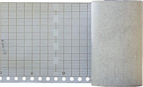 Strip Recorder Chart Paper for Rustrak 288 10 Division (6 Pack)