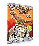 Jamara 460323 - Libro de colorear 4D Dinosaurios – Animar los mundos virtuales 4D