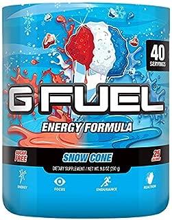 G Fuel Snow Cone (40 Servings) Elite Energy and Endurance Formula 9.8 oz.