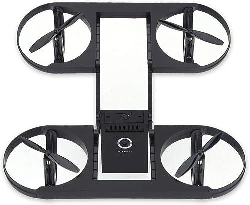 Faltbarer RC Drone Quadcopter, WiFi Quadcopter Drone Spielzeug H  Halten Headless Modus mit 720P HD Kamera(Schwarz