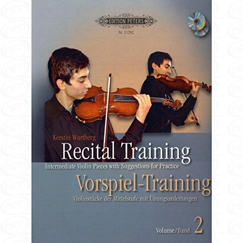 Recital Training 2 - arrangiert für Violine [Noten/Sheetmusic] Komponist : WARTBERG KERSTIN