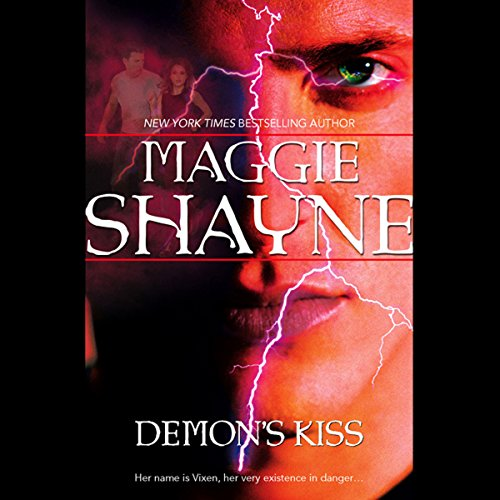 Demon's Kiss audiobook cover art