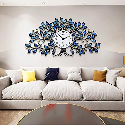 De style européen Art Déco Horloges Et Montres Ménagers Horloge Suspendue Horloge Salon Mur Créative De Mode Horloge À Quartz Atmosphère