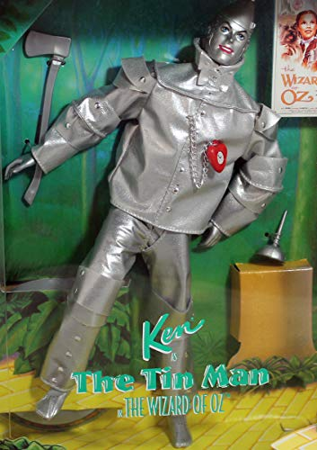 Ken Barbie as the Tin Man, Hollywood Legends, The Wizard of Oz Collectors Edition -  Mattel, 14902-0910