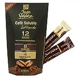 "Juan Valdez Café Soluble Liofilizado ""Sticks"" 100% Café de Colombiano, 12 Sachets"