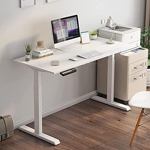 AWJ Mesa de trabajo Mesa Mesa de elevación Eléctrica Escritorio de pie Oficina Inteligente Estación de Trabajo Simple Escritorio Moderno Escritorio Estudio Escritorio Escritorio