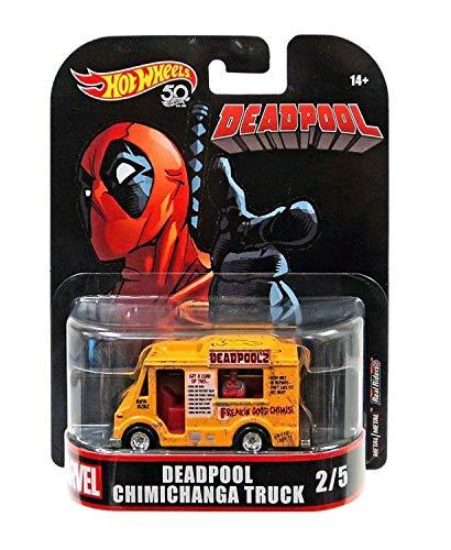 Hot Wheels Deadpool Food Truck, 1:64 Scale