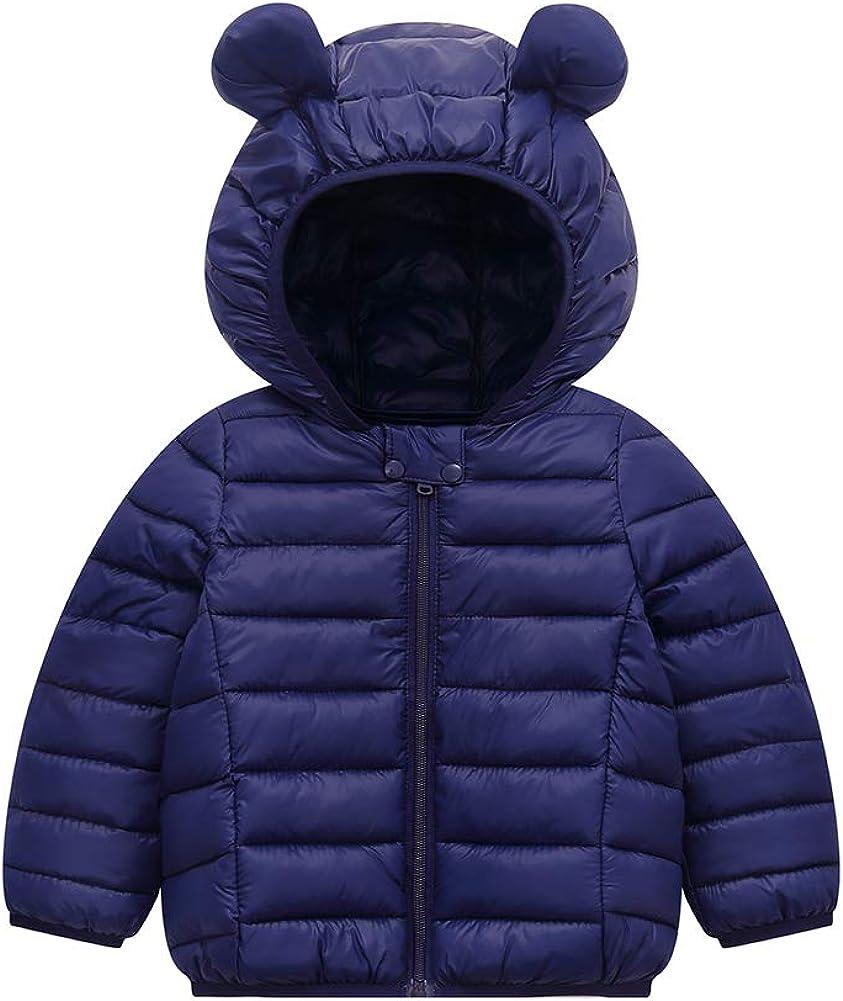 BOBORA Baby Coats Ranking TOP13 Light Japan Maker New Weight Winter Bear Ears Down Hooded Jack