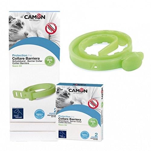 Camon Collare Barriera all'Olio di Neem per Gatti 3 Confezioni Linea Protection Protezione da Insetti e Parassiti