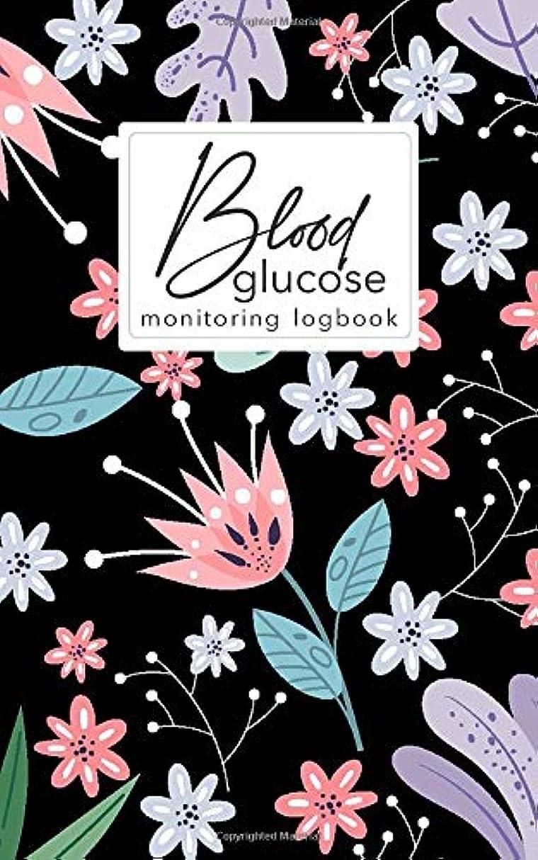特異な統合人道的Blood glucose monitoring log book: Blood Sugar Level Tracker for Diabetic Health Dairy Organizer  Health Journal Medical Organizer & Logbook Small Size  5x 8 inch